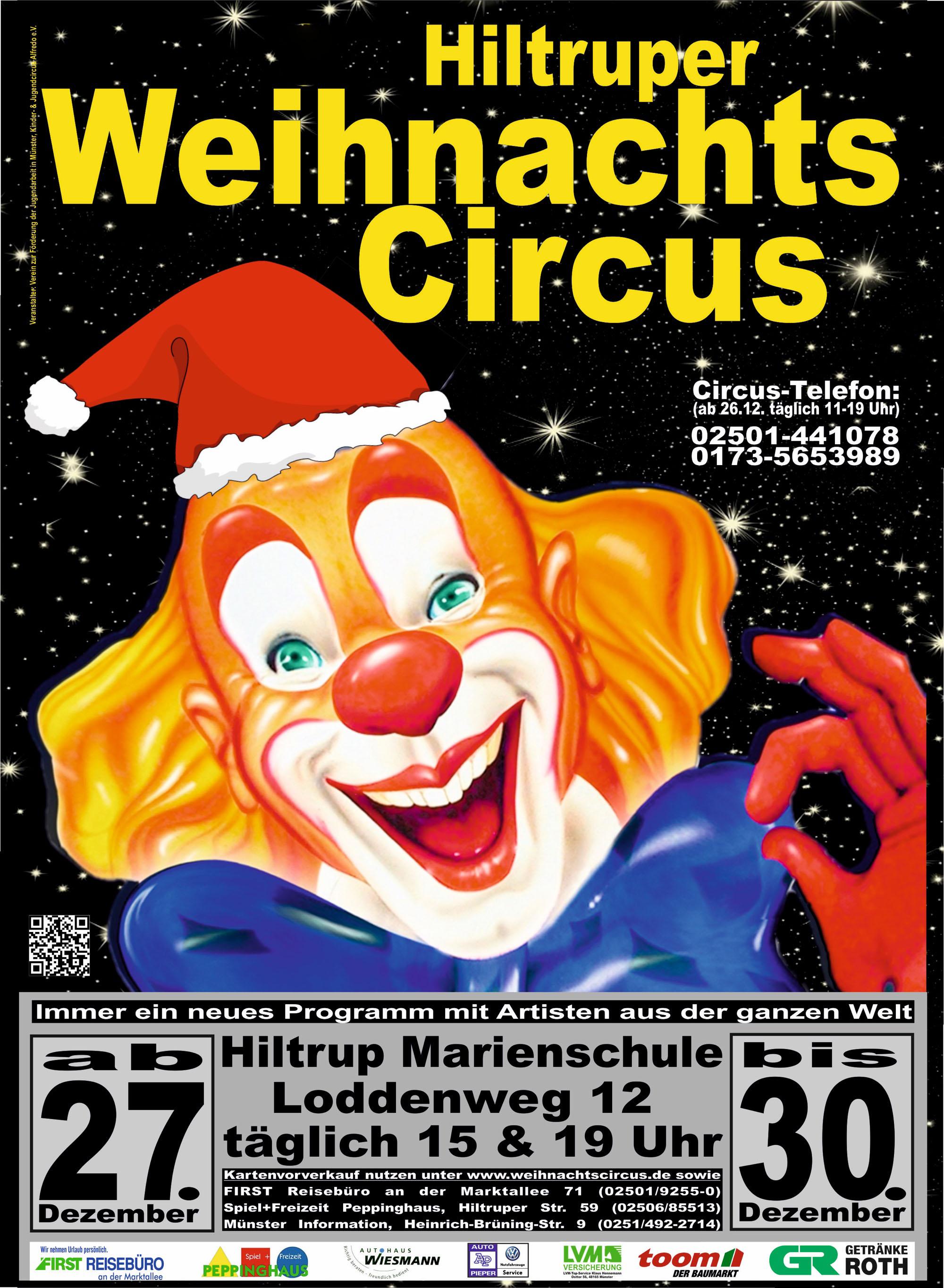 Preise und Tickets – Hiltruper Weihnachtscircus